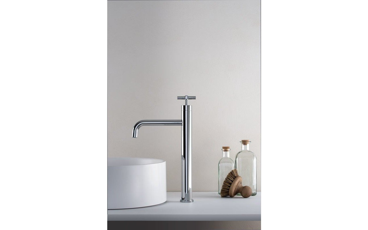 Aquatica Celine 10 Sink Faucet SKU 222 – Chrome 01 web
